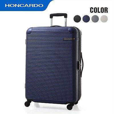 HONCARDO ABS Luggage New Expandable Spinner Wheels Travel Suitcase Carry on Bag