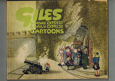 GILES CARTOON ANNUAL No. 2 from 1947