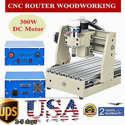 3 AXIS CNC Router Engraver 3D Engraving Drilling Milling DESKTOP Machine 2015T