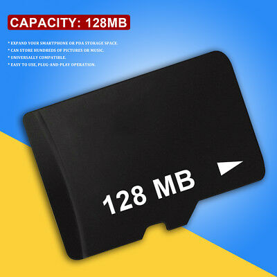 128MB Micro SD TF Flash Memory Card For Samsung Galaxy S5 S4 S3 Mini Note 4 3 US