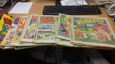 vintage whoopee comics from 1983-1986