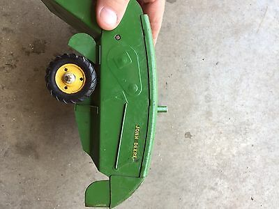 Antique John Deere Combine Toy
