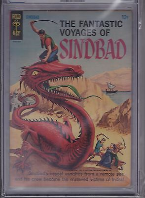 The Fantastic Voyages Of Sindbad #1 CGC 7.5 OW Gold Key 1965