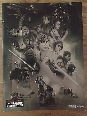 Star Wars Celebration; official convention book (commemorative Guide)
