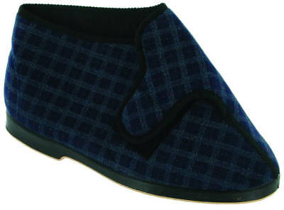 GBS Keswick Mens Touch Fastening Mens Bootees Size 12 Blue