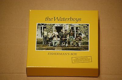 The Waterboys ‎– Fisherman's Box 6 CD Box Set Plus 56 page booklet