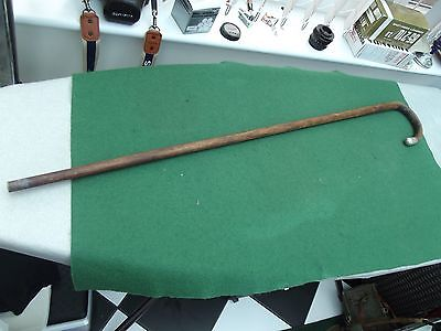 Vintage Silver Topped 1920 Hallmarked Walking Stick