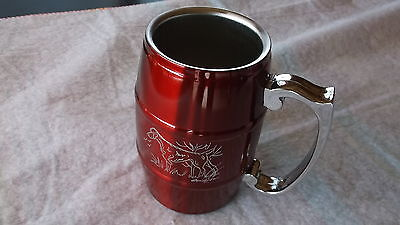 Vizsla- Hand Engraved Stainless Barrel Mug  by Ingrid Jonsson
