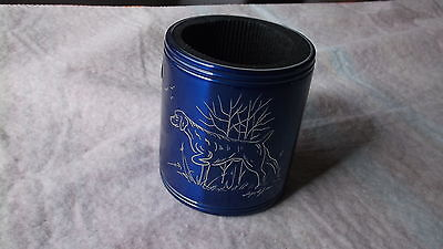 Vizsla- Hand Engraved Stainless Can Cooler by Ingrid Jonsson