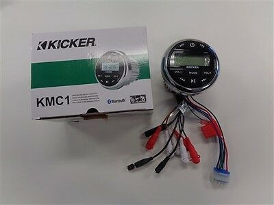 Kicker Kmc1 Am / Fm / Usb Media Center Marine Boat