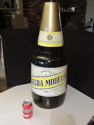 NEW Jumbo Negra Modelo Beer Bottle Inflatable Blow up Bar pool Party Decoration