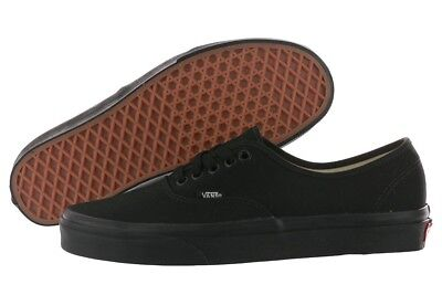 Vans Authentic Era Black Canvas VN000EE3BKA Fashion Sneakers Medium (B M) Womens