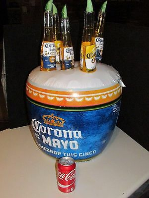 NEW Jumbo Corona Light Cinco De Mayo Bucket Inflatable Beer Blow up Lime Drop
