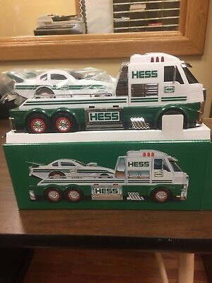 Brand New In Box-2016 Hess Toy Truck and Dragster - New in Sealed Box