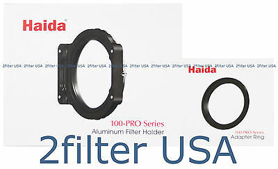 Haida 100-Pro Series 100mm Filter Holder with 52mm Adapter Ring