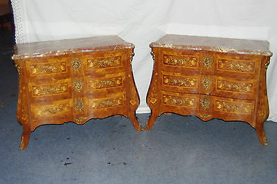 French Commodes - Vintage Pair