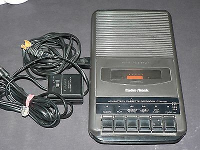 Radio Shack CTR-66 Cassette Recorder! *works great* excellent!