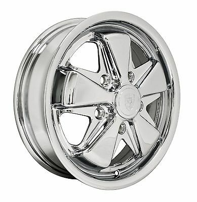 "EMPI VW Bug, Ghia, Bus, Thing, T3 00-9677-0 911 Alloy 15"" x 4.5"" 5x130 Wheel"