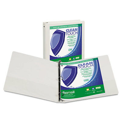 "Samsill Clean Touch 3"" 3-Ring View Binder  - SAM17287"