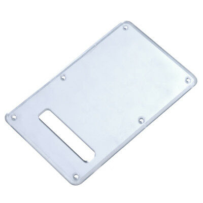 1 Pc Guitar Back Plate Tremolo Cavity Cover for Fender Parts PVC Mirror