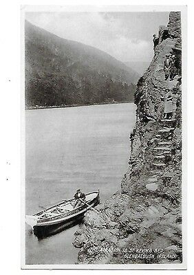 GLENDALOUGH St Kevin's Bed Ireland Early Postcard