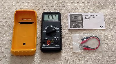 Tenma Digital Capacitance Meter with Protective Rubber Holster