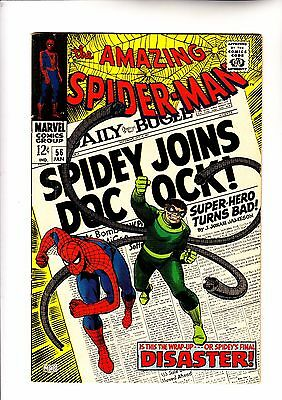 Amazing Spider-Man 56 1st app of Captain George Stacy