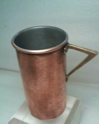 Antique Copper & Brass 1 Cup Measure For Cook