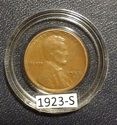 1923-S Lincoln Cent Extra Fine