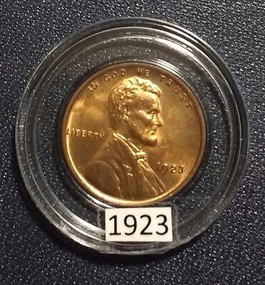 1923 lINCOLN CENT MINT STATE UNCIRCULATED RED