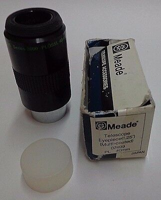 "Meade 3000 Series 40mm PLOSSL Multicoated Telescope Eyepiece 1.25"" FREE SHIPPING"