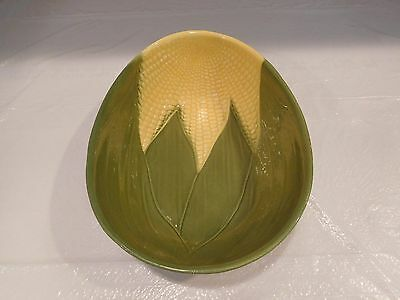 Shawnee Ohio Pottery Corn King Oval Vegetable Bowl USA # 95