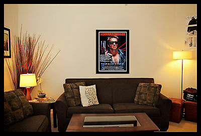 The Terminator Movie Wall Art Poster Picture Various Sizes, Framed Or Unframed
