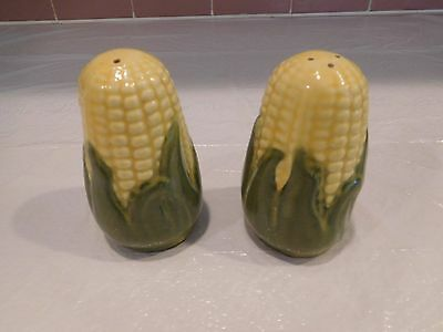 "Shawnee Pottery Yellow King Corn USA 3"" Salt & Pepper Shaker"
