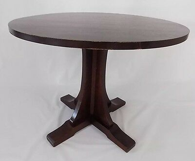 "Stickley 38"" Lamp Table Mission Oak"
