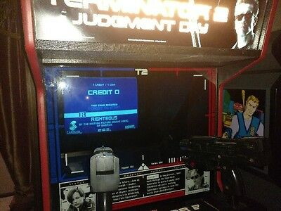 Terminator 2 Dedicated Arcade Machine! FULLY WORKING