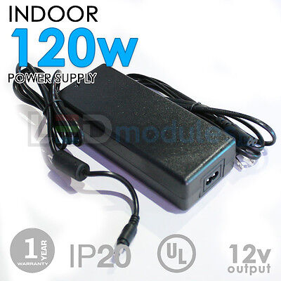 LED-Factory -12V -120W -9.5A -Indoor Power Supply, Adapter -DC -UL