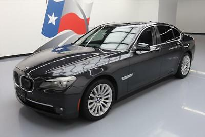 2012 BMW 7-Series Base Sedan 4-Door 2012 BMW 750I XDRIVE AWD CLIMATE SEATS SUNROOF NAV 43K #396732 Texas Direct Auto