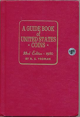 A Guide Book of United States Coins, 1980 33rd edition