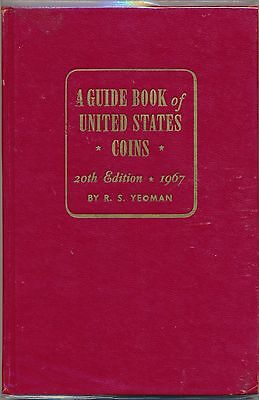 A Guide Book of United States Coins, 1967 20th edition