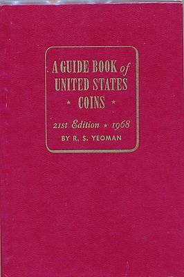 A Guide Book of United States Coins, 1968 21st edition