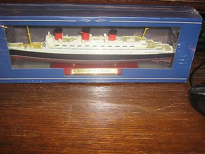 Die Cast Model - Rms Queen Mary - 1;1250 - Mint In Box
