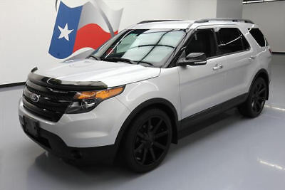 2014 Ford Explorer Sport Sport Utility 4-Door 2014 FORD EXPLORER SPORT AWD ECOBOOST LEATHER NAV 22'S #A52178 Texas Direct Auto