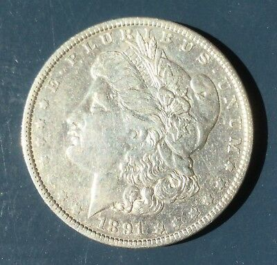 1891 O Morgan Dollar New Orleans Mint