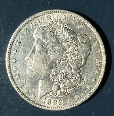 1892 Morgan Dollar Rare Key Date, High Grade