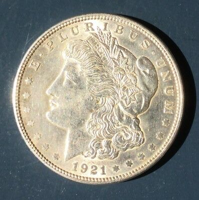 1921 Morgan Dollar Very Nice Vintage Coin. Nice Luster.