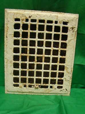 Vintage 1920S Iron Heating Grate Square Design 11.75 X 9.75