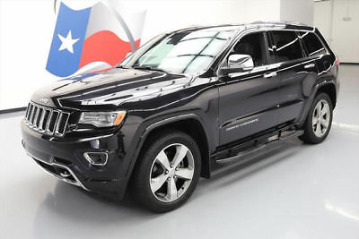 2014 Jeep Grand Cherokee Overland Sport Utility 4-Door 2014 JEEP GRAND CHEROKEE OVERLAND 4X4 HEMI PANO NAV 27K #441720 Texas Direct