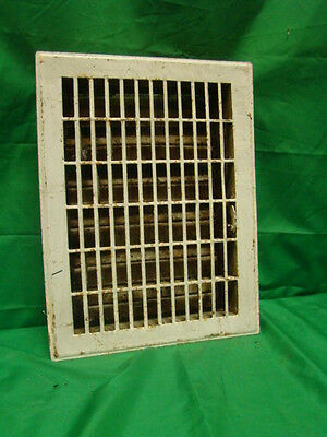 Vintage 1920S Iron Heating Grate Rectangular Design 14 X 10.5