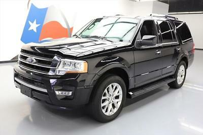 2016 Ford Expedition  2016 FORD EXPEDITION LTD ECOBOOST 8-PASS LEATHER 36K MI #F23235 Texas Direct